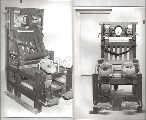 Actual Electric Chair from Stateville Maxiumum Security Prison