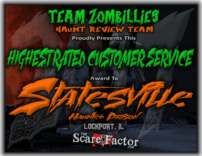 Award for Highest Rated Customer Service