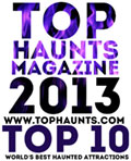 TopHaunts.com Top 10 for 2013