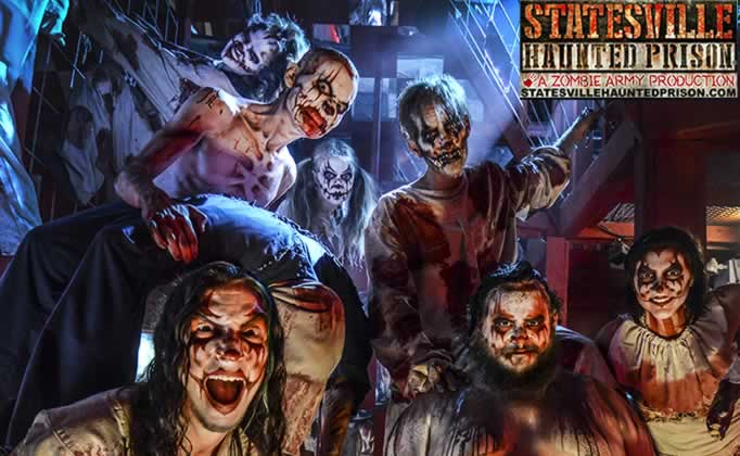 Statesville Haunted Prison® and City of the Dead Haunted
